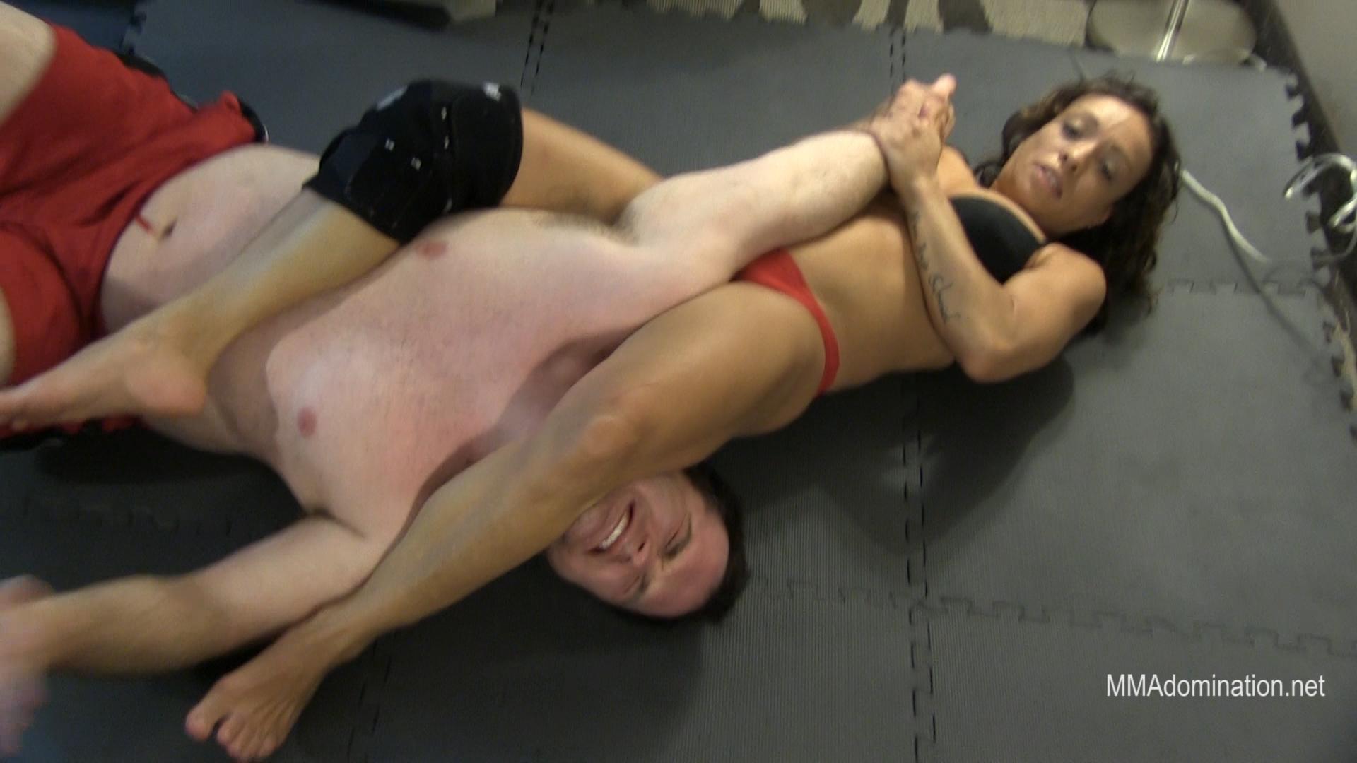 Maria Queen Mixed Wrestling Domination .Still005